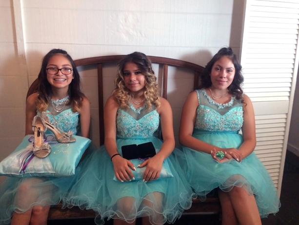 quinceanera celebration - banquet hall - 7252