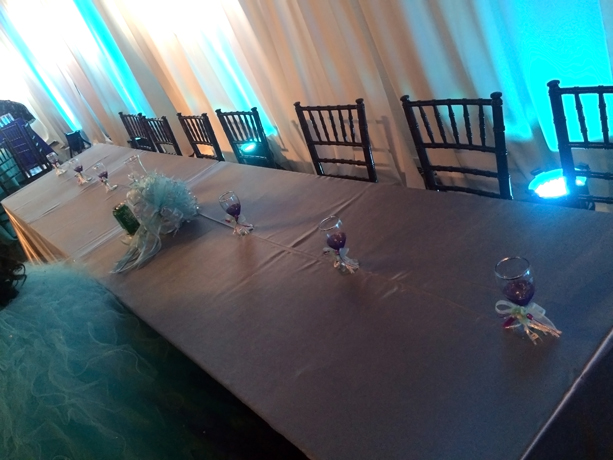 quinceanera celebration - banquet hall - 7254