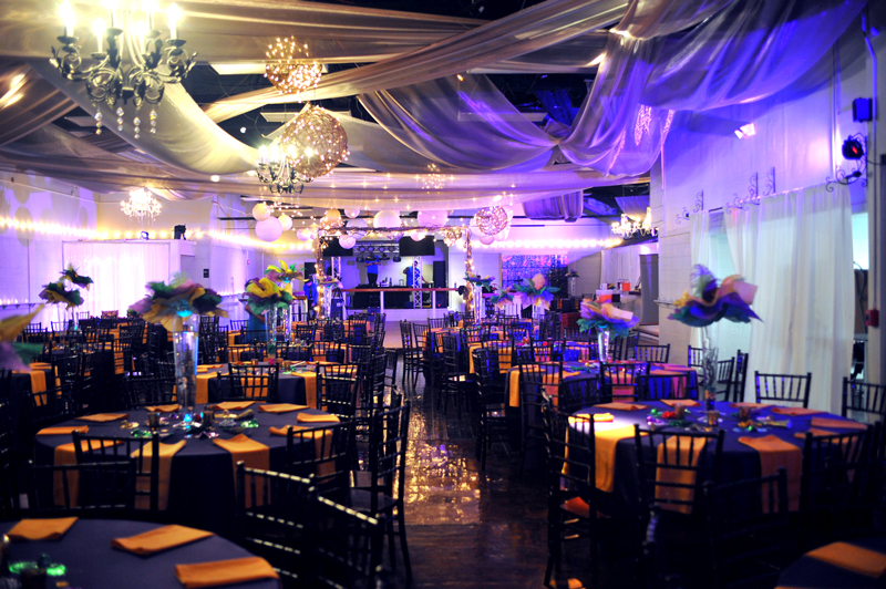 quinceanera celebration - banquet hall - 7255