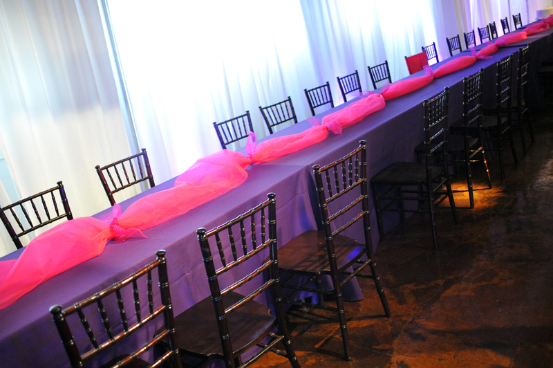 quinceanera celebration - banquet hall - 7261