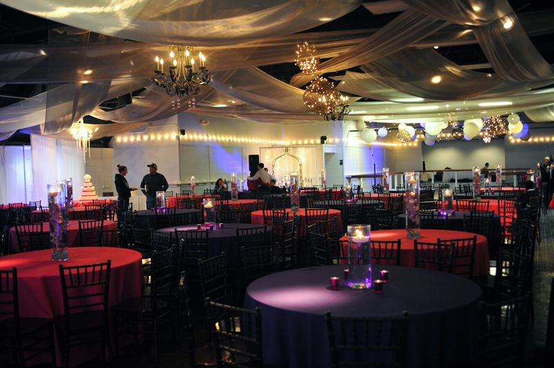 quinceanera celebration - banquet hall - 7264