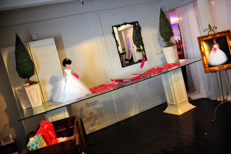 quinceanera celebration - banquet hall - 7268